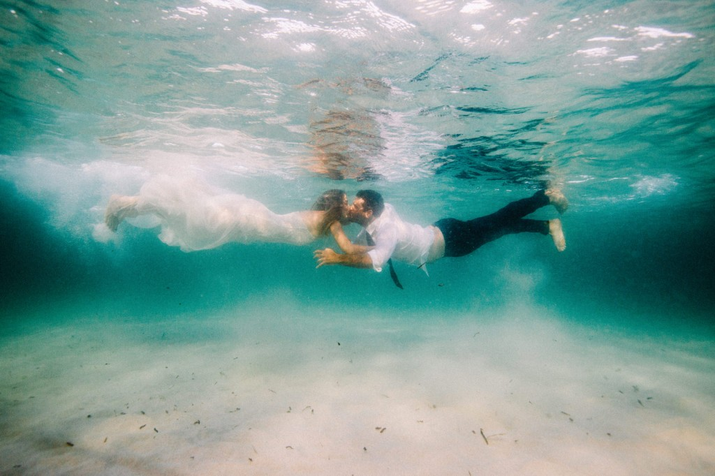 Underwater Trash The Dress Margaret River