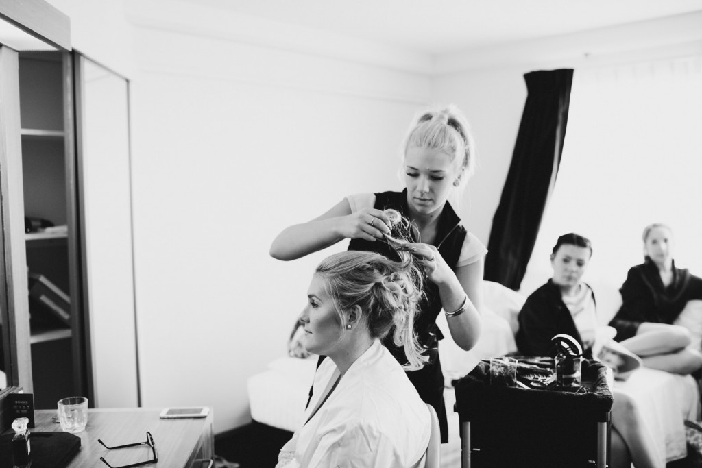 Down South Bunbury Margaret River Wedding Engagement Photography and Videography Bridal Prep Hair Styling